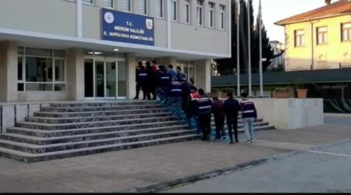 MERSİN'DE PKK/KCK OPERASYONUNA 7 TUTUKLAMA