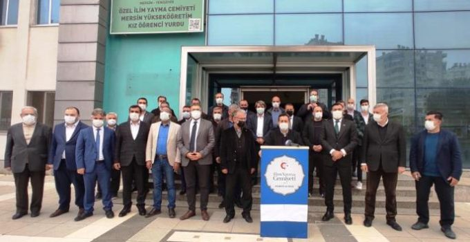 EMEKLİ AMİRALLERE MERSİN'DEN TEPKİ