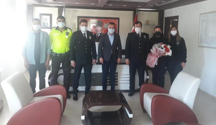 BOZYAZI'DA POLİS HAFTASI ETKİNLİKLERİ