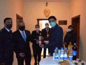 MUT'TA GÖREV YAPAN BAŞARILI POLİSLERE ÜSTÜN BAŞARI BELGESİ