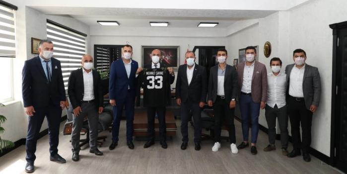 MHK ÜYESİ TOZLU'DAN, ŞAHNE'YE 33 NUMARALI FORMA