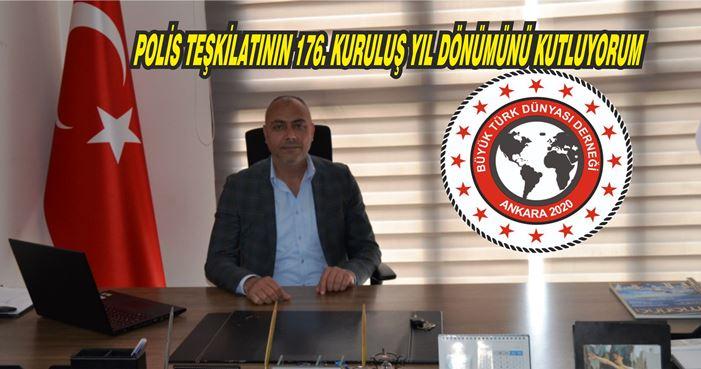 KARAPINAR, POLİS TEŞKİLATININ 176. YIL DÖNÜMÜNÜ KUTLADI