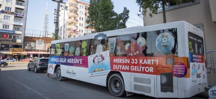 33 KART MOBİL HİZMET ARACI SİLİFKE'DE
