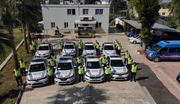 JANDARMADAN DRONE DESTEKLİ TRAFİK UYGULAMASI