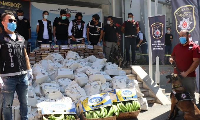 Ele geçirilen kokainin miktarı 1 ton 300 kiloya yükseldi