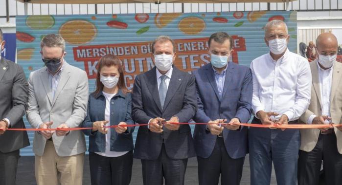 MERSİN'DE 'GÜNEŞ ENERJİSİ İLE KURUTMA TESİSİ' HİZMETE GİRDİ