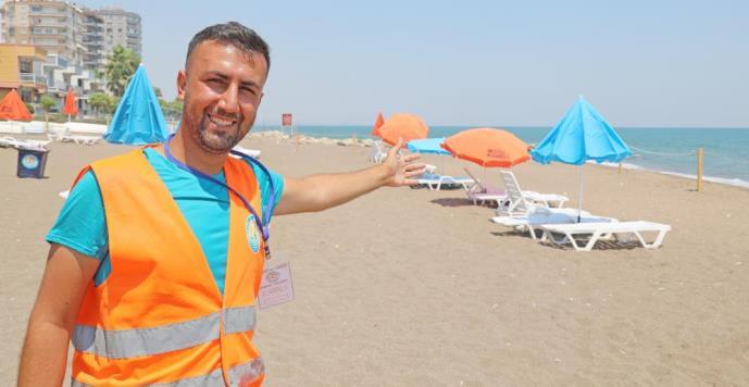 MEZİTLİ BELEDİYESİNDEN 'AİLE PLAJI'