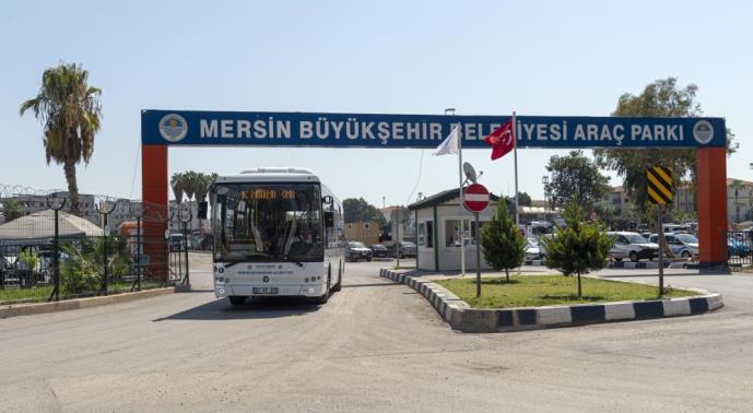 MERSİN'DE ELEKTRİKLİ OTOBÜSLER TEST EDİLİYOR
