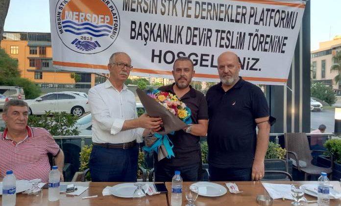 MERSİN STK VE DERNEKLER PLATFORMUNDA MAHMUT ÇALIŞ DÖNEMİ BAŞLADI