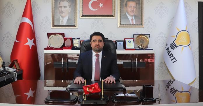 AK PARTİ İL BAŞKANI ERCİK'İN 30 AĞUSTOS ZAFER BAYRAMI KUTLAMA MESAJI