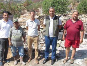 MERSİN'DE ORMAN YANGINLARINDA ZARAR GÖREN VATANDAŞLARA HİBE DESTEĞİ