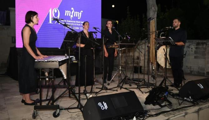 DAMASK VOCAL QUARTET, FESTİVALDE TARSUSLULARLA BULUŞTU