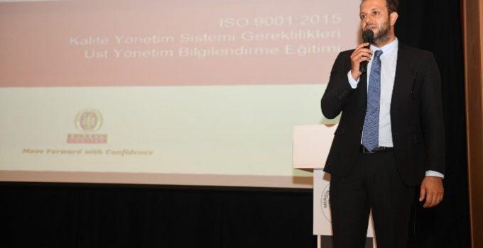 YENİŞEHİR BELEDİYESİ ISO 9001 BELGESİ İÇİN ÇALIŞMALARINA BAŞLADI