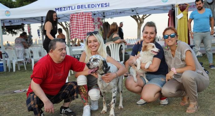 MEZİTLİ'DE PATİ FEST FESTİVALİ