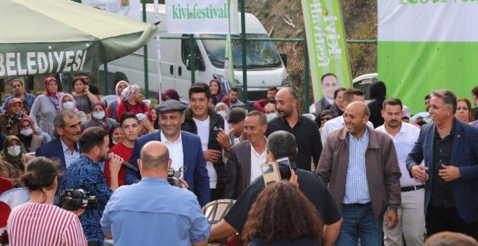 TOROSLAR'DA 'KİVİ FESTİVALİ' COŞKUSU